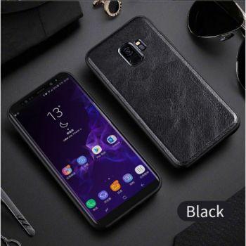 Ультратонкий кожаный чехол премиум класса от X-Level для Samsung Galaxy S9