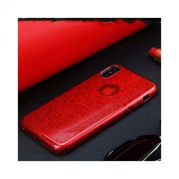Яркий чехол накладка красного цвета Be Amazing для iPhone X