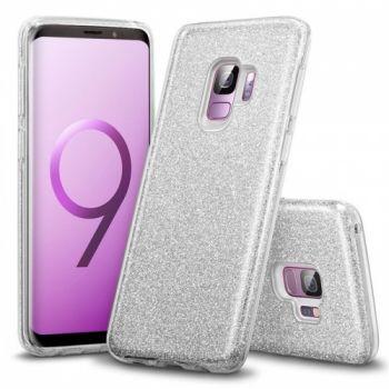 Яркий чехол накладка Be Amazing для Samsung Galaxy S9 Plus серый