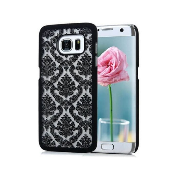 Чехол-бампер Damask Vintage для Samsung Galaxy S7 black