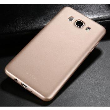 Ультратонкий золотой чехол накладка Ultraslim для Samsung Galaxy J710