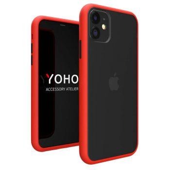 Противоударный матовый чехол Yoho для iPhone 11