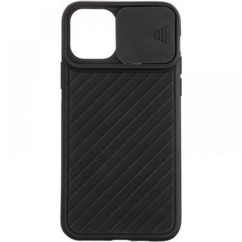 Защитный чехол Slide Camera от AirCase для iPhone 12 Pro Max черный