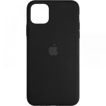 Оригинальная Full Soft накладка Black для iPhone 12