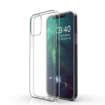 Прозрачный тпу чехол накладка Clear для iPhone 12