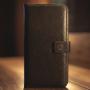 Кожаный чехол книжка Klassika от Jitnik для iPhone 7, коричневый