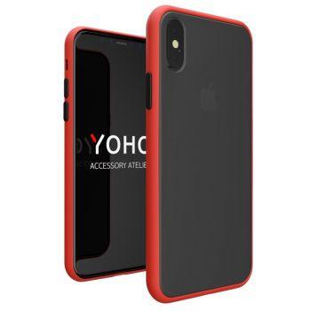 Противоударный матовый чехол Yoho для iPhone Xs Max