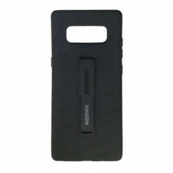 Черная накладка Hold Series от Remax для Samsung Note 8