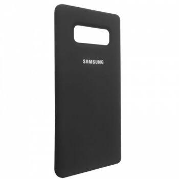 Оригинальный чехол накладка Soft Case для Samsung Note 8 черный
