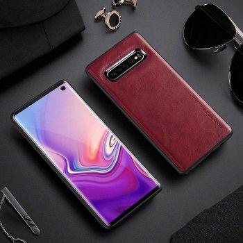 Красный чехол премиум класса от X-Level для Samsung Galaxy S10 Plus