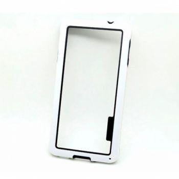 Белый чехол бампер для Samsung Galaxy Alpha G850F