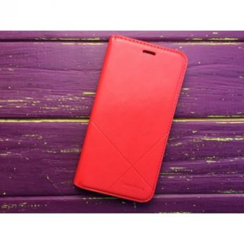 Красный чехол книжка SOUTHKING для Samsung Galaxy J5 2016