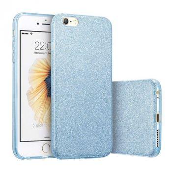 Синий чехол с блесками от Remax для iPhone 7 Plus