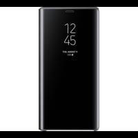 Черный чехол книжка под оригинал для Samsung Galaxy S7 edge