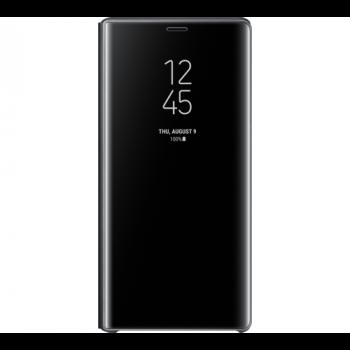 Черный чехол книжка под оригинал для Samsung Galaxy s10