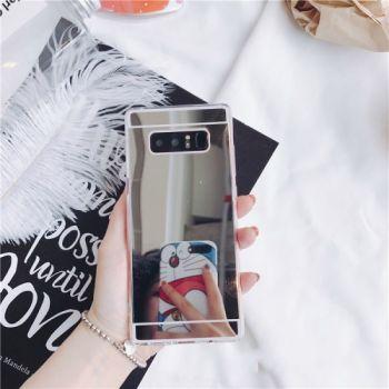 Красивый зеркальный серый чехол Acylic для Samsung Galaxy S10