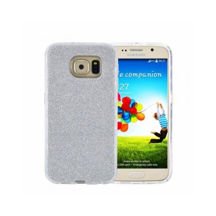 Чехол пенал серебристого цвета Amazing для Samsung Galaxy S7 Edge