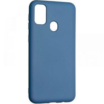 Оригинальный чехол полного обхвата Full Soft для Samsung M307 (M30s) Blue