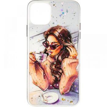Накладка с девушкой (принт №2) от Floveme для Samsung M307 (M30s)