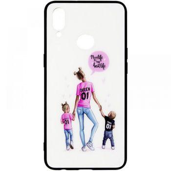 Накладка с девушкой (принт №7) от Floveme для Samsung M307 (M30s)