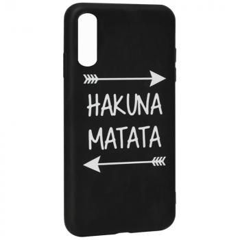 "Чехол с надписью ""Hakuna Matata"" от Viva для Samsung A50"