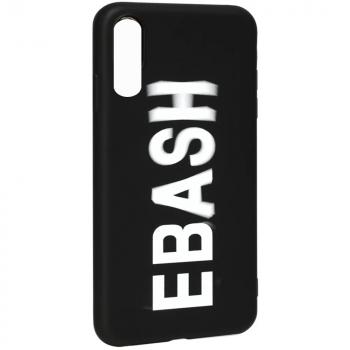 """Чехол с надписью """"EBASH"""" от Viva для Samsung A50"""