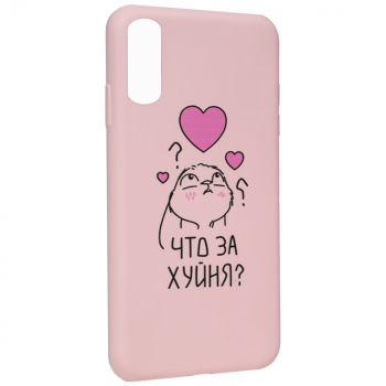 "Чехол с надписью ""Что за х..ня"" от Viva для Samsung A50"