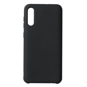 Чехол накладка под оригинал Matte для Samsung A50 черный