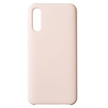 Чехол накладка под оригинал Matte для Samsung A50 розовый