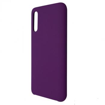 Чехол накладка под оригинал Matte для Samsung A50 фиолетовый