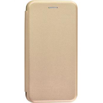 Чехол книжка из кожи Ranger от G-Case для Samsung A50 золото