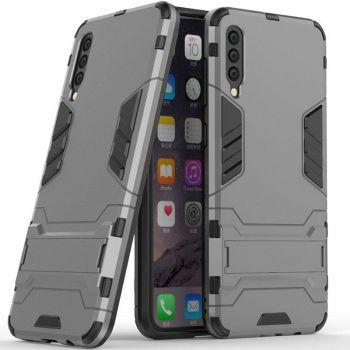 Пластиковый чехол накладка от Honor для Samsung A50 серый
