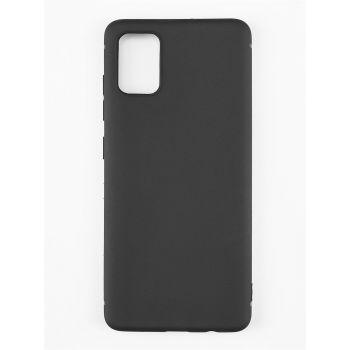 Оригинальный чехол накладка Case для Samsung A51 черный