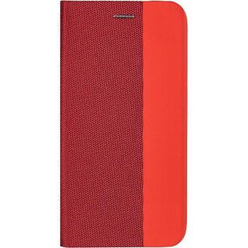 Кожаная книжка Canvas от Gelius для Samsung A51 красный