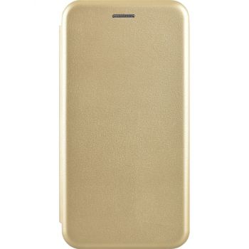 Чехол книжка из кожи G-Case Ranger для Samsung J415 (J4 Plus) золотой