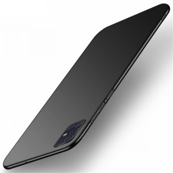 Тонкий черный чехол накладка Elastic для Samsung Galaxy Note 10 Lite