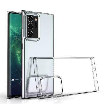 Прозрачный силиконовый чехол Clear для Samsung Note 20 Ultra
