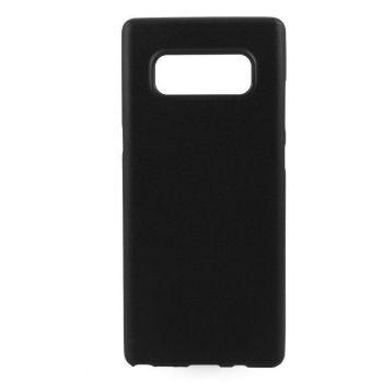 Оригинальная силиконовая накладка для Samsung Note 8 черный