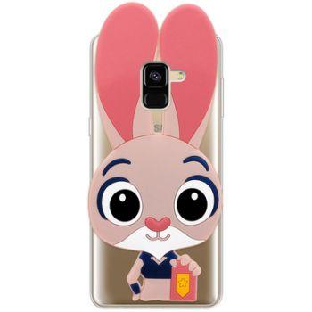 Силиконовый чехол Зверополис Кролик для Samsung J600 (J6-2018)