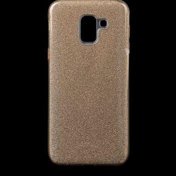Чехол с блесками Glitter Silicon от Remax для Samsung J600 (J6-2018) золотой