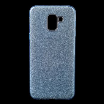 Чехол с блесками Glitter Silicon от Remax для Samsung J600 (J6-2018) синий