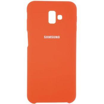 Оригинальный чехол накладка Soft Case для Samsung J810 (J8-2018) золотой