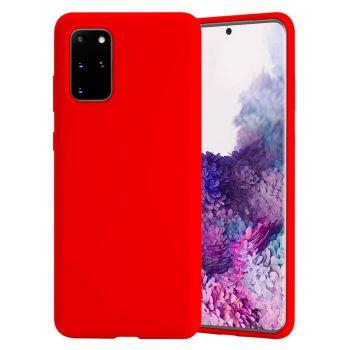 Чехол накладка Candy для Samsung Galaxy S20 Plus красный
