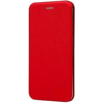 Чехол книжка из кожи G-Case Ranger для Samsung J510 (J5-2016) красный