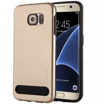 Чехол металлический от Motomo для Samsung Galaxy S7 золото