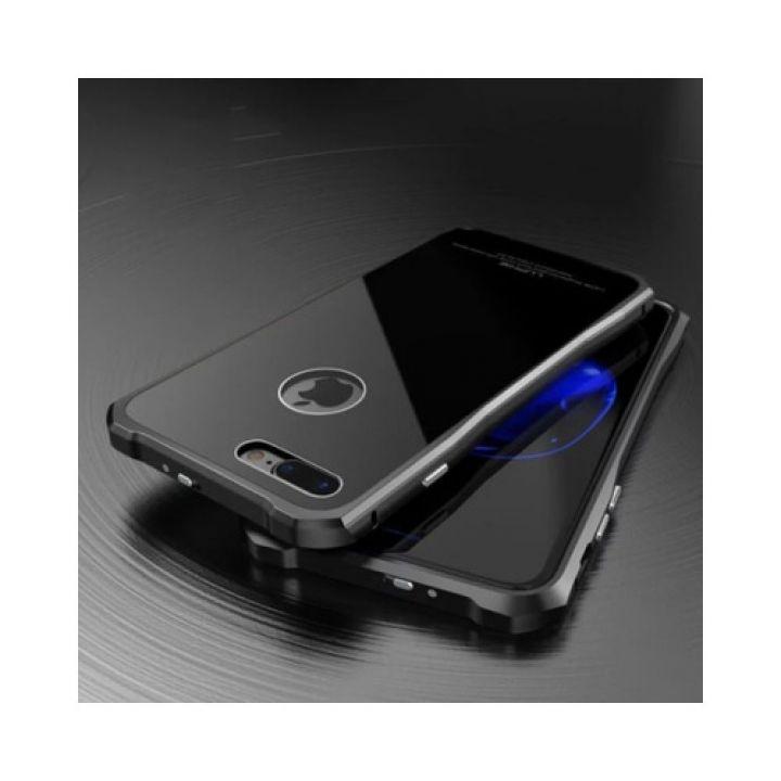 Чехол накладка Luxury Glass для iPhone 7 Plus black