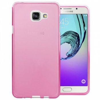 Оригинальная силиконовая накладка для Samsung A710 (A7-2016) розовый