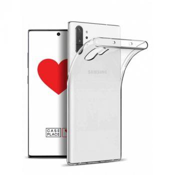 Прозрачный силиконовый чехол Thin Air для Samsung Note 10 plus