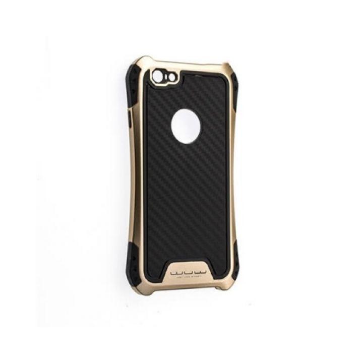 Чехол пенал Armor для iPhone 6/6s gold