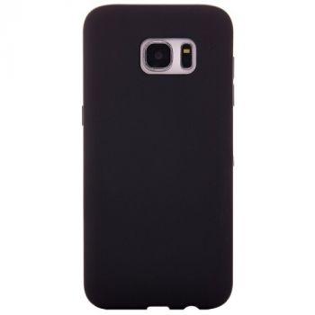 Ультратонкий чехол бампер Black Matt для Samsung Galaxy S7 edge